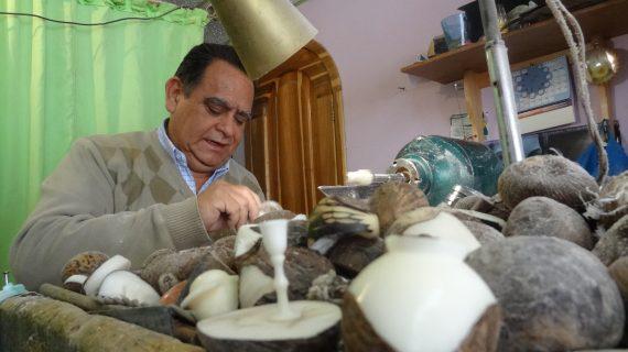 Artesanias en tagua. chiquinquira