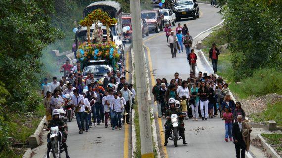 Fiesta Virgen del Carmen_2 Alcaldía de Chiscas