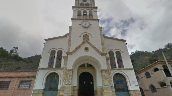 Iglesia parroquia Inmaculada Concepción,Socotá