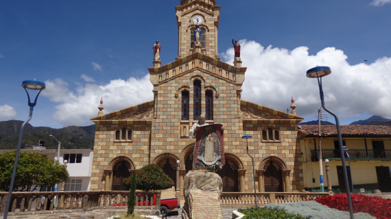 5. iglesia nuestra señora de la candelaria santuario de la virgen morenita, alcaldia, 2016