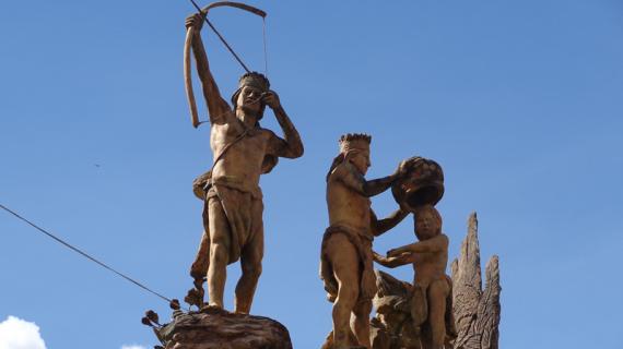 6. MONUMENTO A LA DIGNIDAD U'WA. Alcaldia, 2017-