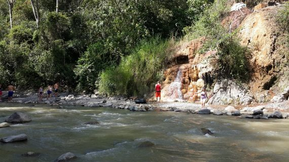 Cascada termal el Ocho