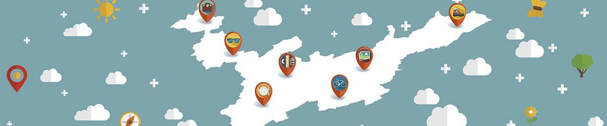 Mapa de Atractivos Turísticos