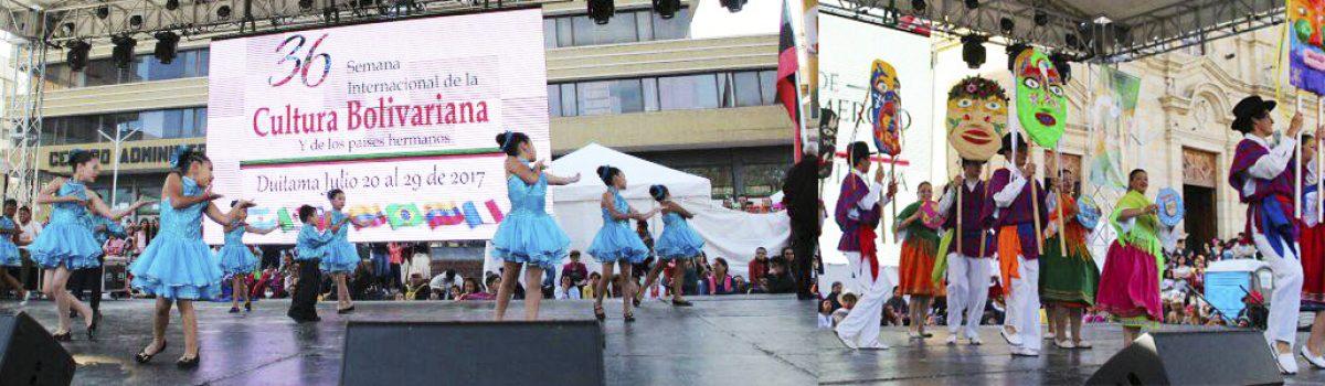 Semana Internacional de la Cultura Bolivariana