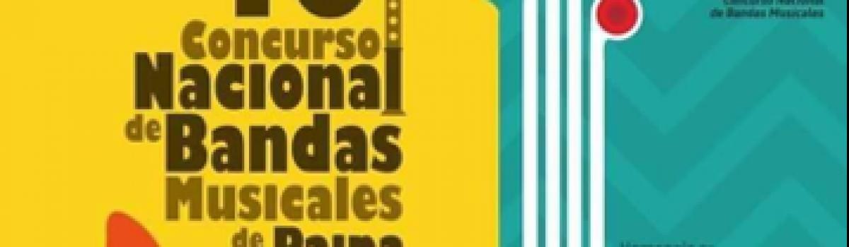 46 CONCURSO NACIONAL DE BANDAS MUSICALES DE PAIPA