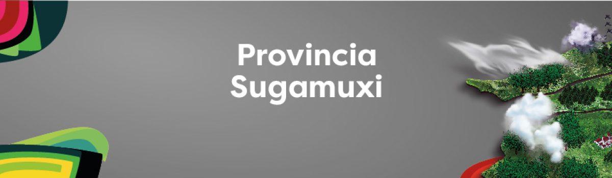PROVINCIA SUGAMUXI