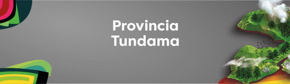 PROVINCIA TUNDAMA